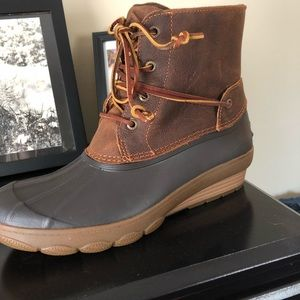 Sperry Saltwater Tide Wedge Boots